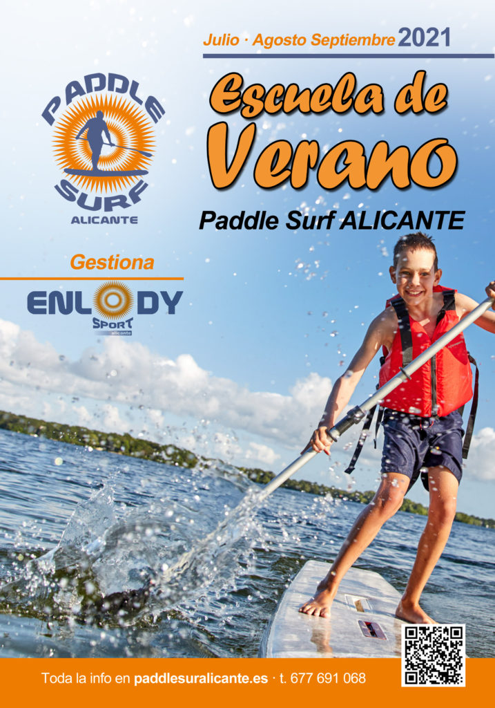Poster Paddle Surf Alicante 2021